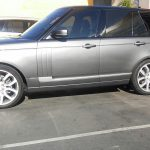 Range Rover paint repair