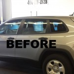 before - window tinting Campbell CA