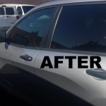 After - window tinting Campbell CA